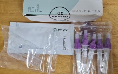 Bộ kit test nhanh giá gốc chỉ 25.000-35.000 đồng, giá trong nước 80.000-200.000 vì sao?