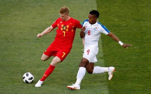 Bỉ - Panama 3-0, 'người nghèo' lực bất tòng tâm
