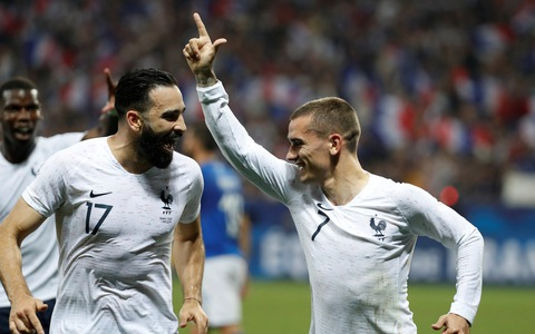 Thắng thuyết phục Ý, Pháp đã sẵn sàng cho World Cup