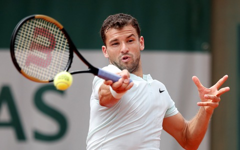 Dimitrov dừng bước ở vòng 3 Roland Garros
