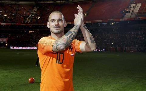 Sneijder - huyền thoại không danh hiệu