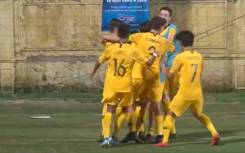 Thua U16 Úc phút cuối, U16 Việt Nam hồi hộp chờ lấy vé vớt