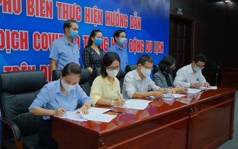 Đà Nẵng: Doanh nghiệp du lịch ký cam kết phòng dịch COVID-19 trước khi mở cửa