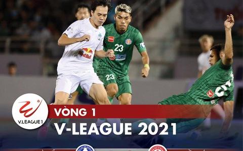 Kết quả, bảng xếp hạng V-League 2021: Hà Nội, Viettel, HAGL ở nhóm cuối bảng