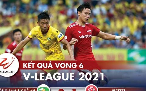 Kết quả V-League 2021: HAGL số 1, hai đội bóng của TP.HCM xuống nhóm cuối