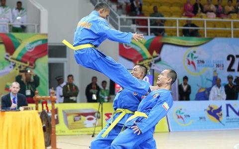 Vovinam lần thứ hai liên tiếp vắng mặt ở SEA Games