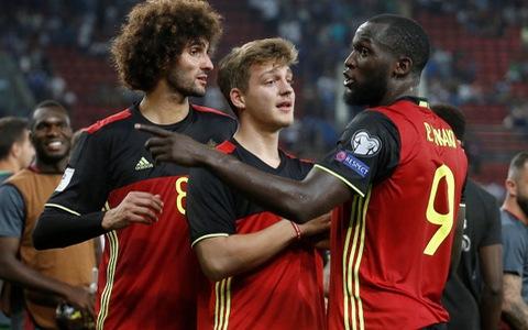 Bỉ đoạt vé đầu tiên ở khu vực châu Âudự World Cup 2018
