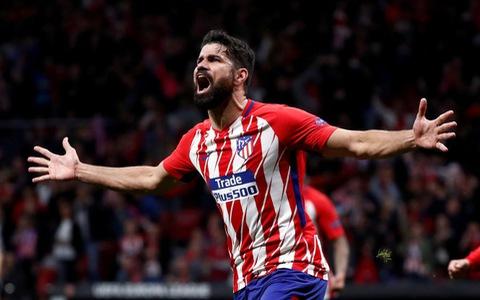Costa đưa Atletico Madrid vào chung kết Europa League