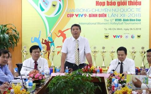 """Cúp bóng chuyền VTV9 – Bình Điền 2018 có khách mời """"khủng"""""""