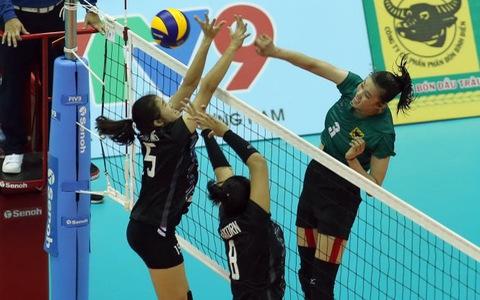 VTV Bình Điền Long An đánh bại đại diện Thái Lan