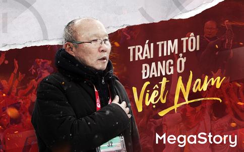 HLV Park Hang Seo: Trái tim tôi đang ở Việt Nam