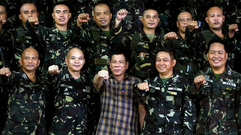 Tổng thống Duterte tuyên bố triệt hạ khủng bố tại Marawi