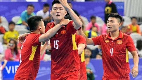 Futsal VN thắng nghẹt thở trước chủ nhà Trung Quốc