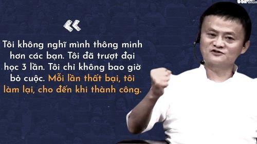 Những lời khuyên của tỉ phú Jack Ma cho giới trẻ Việt