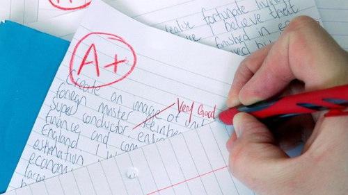 Hiệu trưởng cấm chấm điểm để tăng tự tin cho học sinh