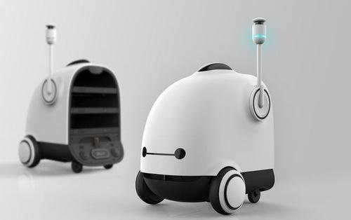 Robot sắp 'đá văng' nhân viên giao hàng Hàn Quốc?