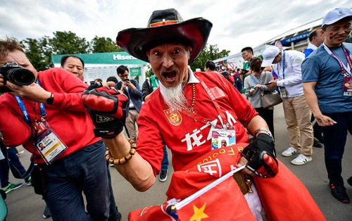 Du khách Trung Quốc bị từ chối vào sân World Cup vì mua phải vé giả