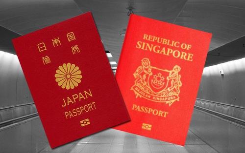 Nhật Bản, Singapore là 2 quốc gia có hộ chiếu 'quyền lực' nhất