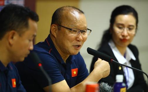 HLV Park Hang Seo: 'Tuấn Anh là cầu thủ tài năng của bóng đá Việt Nam'