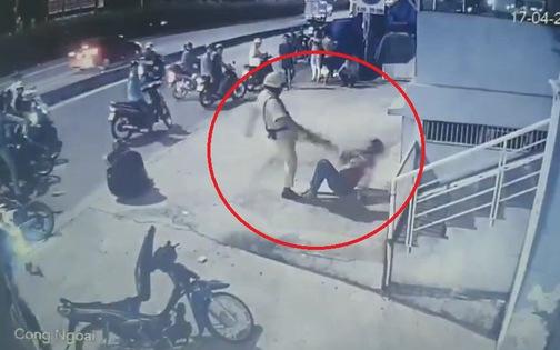 Đã xác định viên CSGT trong video chĩa súng, đánh người vi phạm giao thông