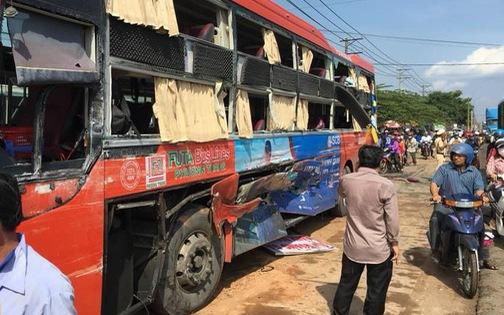 Bị tai nạn khi đi xe Phương Trang, một vị khách đòi bồi thường 789 triệu đồng