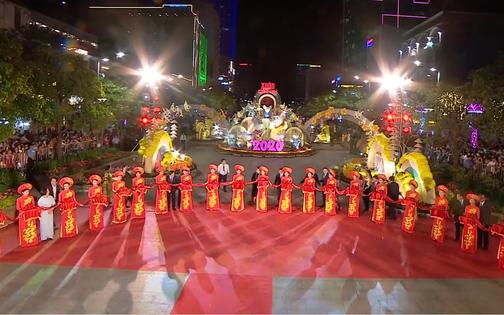 Trực tiếp: Khai mạc đường hoa Nguyễn Huệ năm Canh Tý 2020