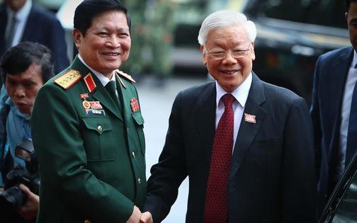 Tổng bí thư, Chủ tịch nước Nguyễn Phú Trọng dự Đại hội đại biểu Đảng bộ Quân đội