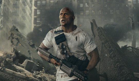 Rampage với 'xôi thịt' là vũ khí để chinh phục khán giả