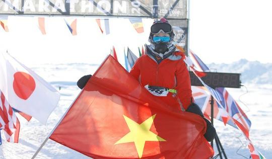 Hành trình chinh phục đường chạy Bắc Cực của cô gái Việt Nam