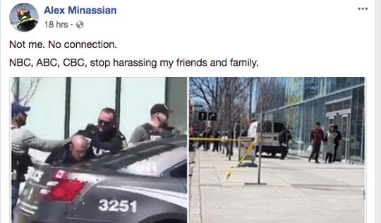 Báo chính thống lại dính 'tin giả' trong vụ lao xe làm 10 người chết ở Canada