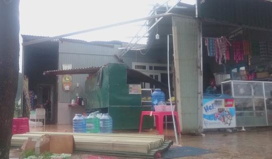 Đà Lạt: lốc xoáy làm sập nhiều nhà dân