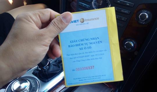 Giấy tờ xe thế chấp ngân hàng, đi đường dùng bản photo được không?