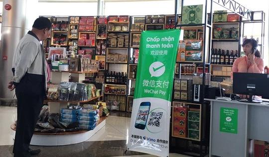 Cửa hàng sân bay Liên Khương rút quảng bá WeChat Pay của Trung Quốc