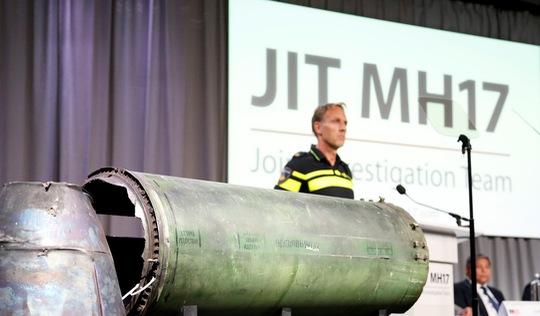 Nga phản bác kết luận điều tra của Hà Lan vụ rơi máy bay MH17