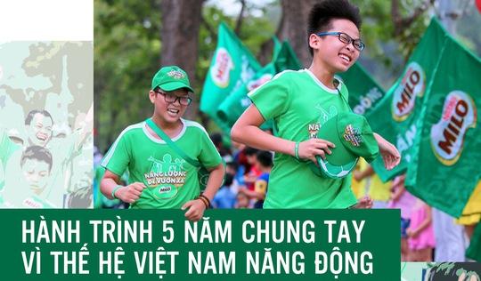 Hành trình 5 năm chung tay vì thế hệ Việt Nam năng động