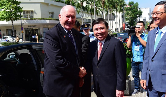 Toàn quyền Úc thăm TP.HCM: quan hệ hai nước ngày càng lớn mạnh