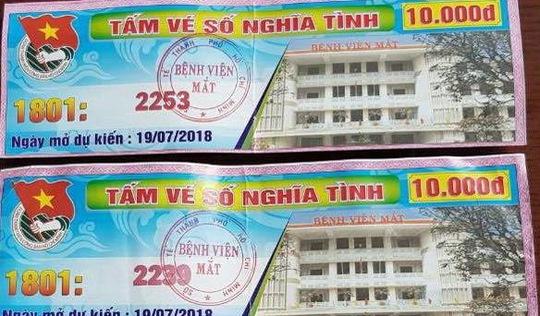 Bệnh viện Mắt thu hồi 'vé số nghĩa tình'