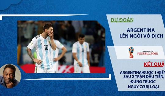 Thắng 'hú vía' trận thứ 2, Brazil mong Pele giữ phong độ... đoán trật lất