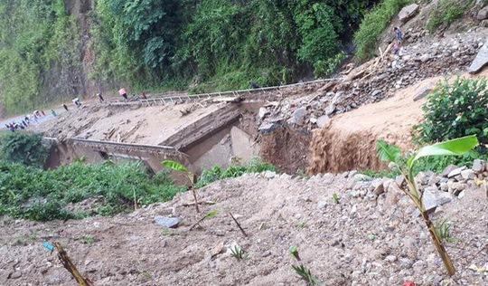 1 người mất tích, 6 người bị thương do mưa lũ miền núi phía Bắc