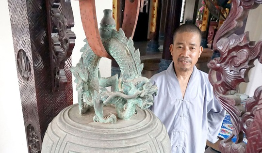 Bảo vật lưu lạc của nhà chùa: Chuông vua