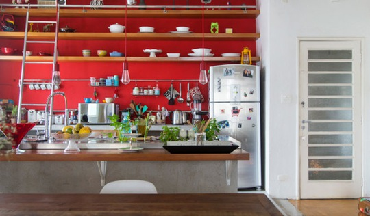Biến tấu cho căn bếp hiện đại
