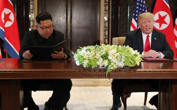 Ông Kim Jong Un cam kết phi hạt nhân hóa bán đảo Triều Tiên