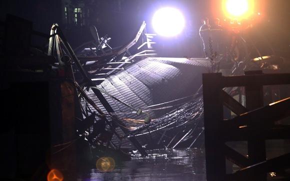 Cầu Long Kiển sập do xe ben chở quá tải gấp gần 5 lần