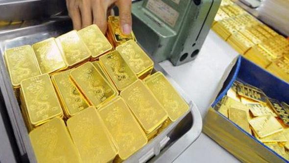 Giá vàng vẫn phập phồng hết tăng đến giảm