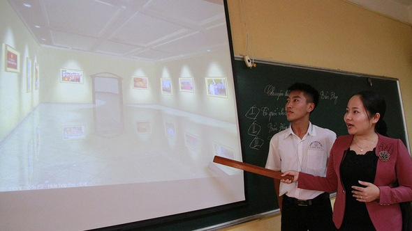 Bảo tàng lịch sử 3D của cô Quyên