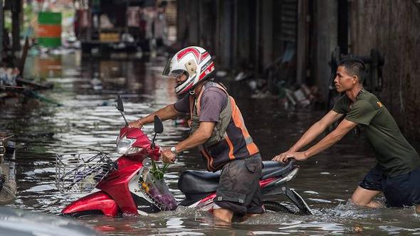 Bangkok ngập trong nước