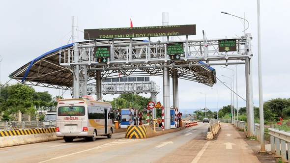 Giảm giá vé trạm BOT Km1.747 quốc lộ 14 qua Đắk Lắk