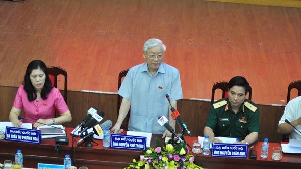 Tổng bí thư Nguyễn Phú Trọng: 'Người bị kỷ luật cảm ơn vì đã kỷ luật họ'