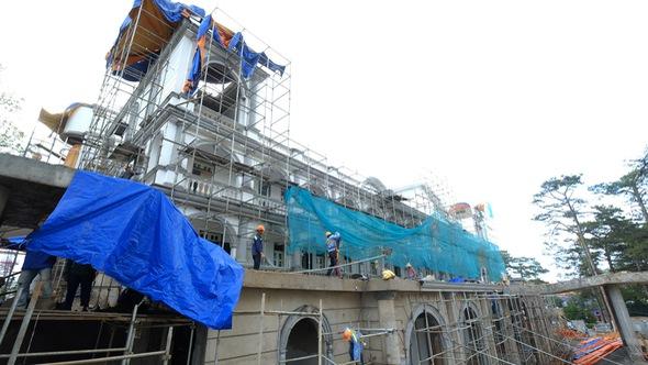 Đình chỉ công trình sai phép trong khách sạn cổ Dalat Palace