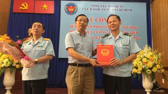 Ông Đinh Ngọc Thắng ngồi ghế nóng Cục Hải quan TP.HCM